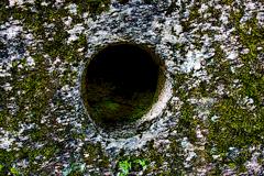 Under jorden i.
