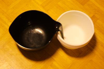 Den gamla degbunken och den nya tyska. So macht Kochen glücklich.