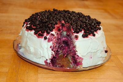 Blå tårta iv.