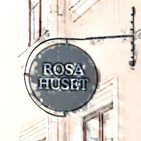 Rosa huset.